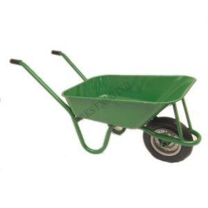 sand-loading-wheel-barrow